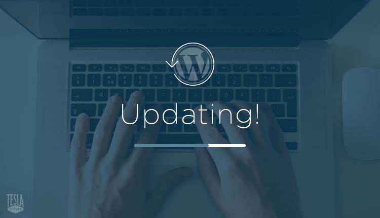 Cập nhật các phiên bản mới để nâng cao tốc độ cho WordPress