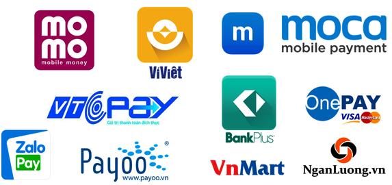 Một số ví điện tử phổ biến hiện nay