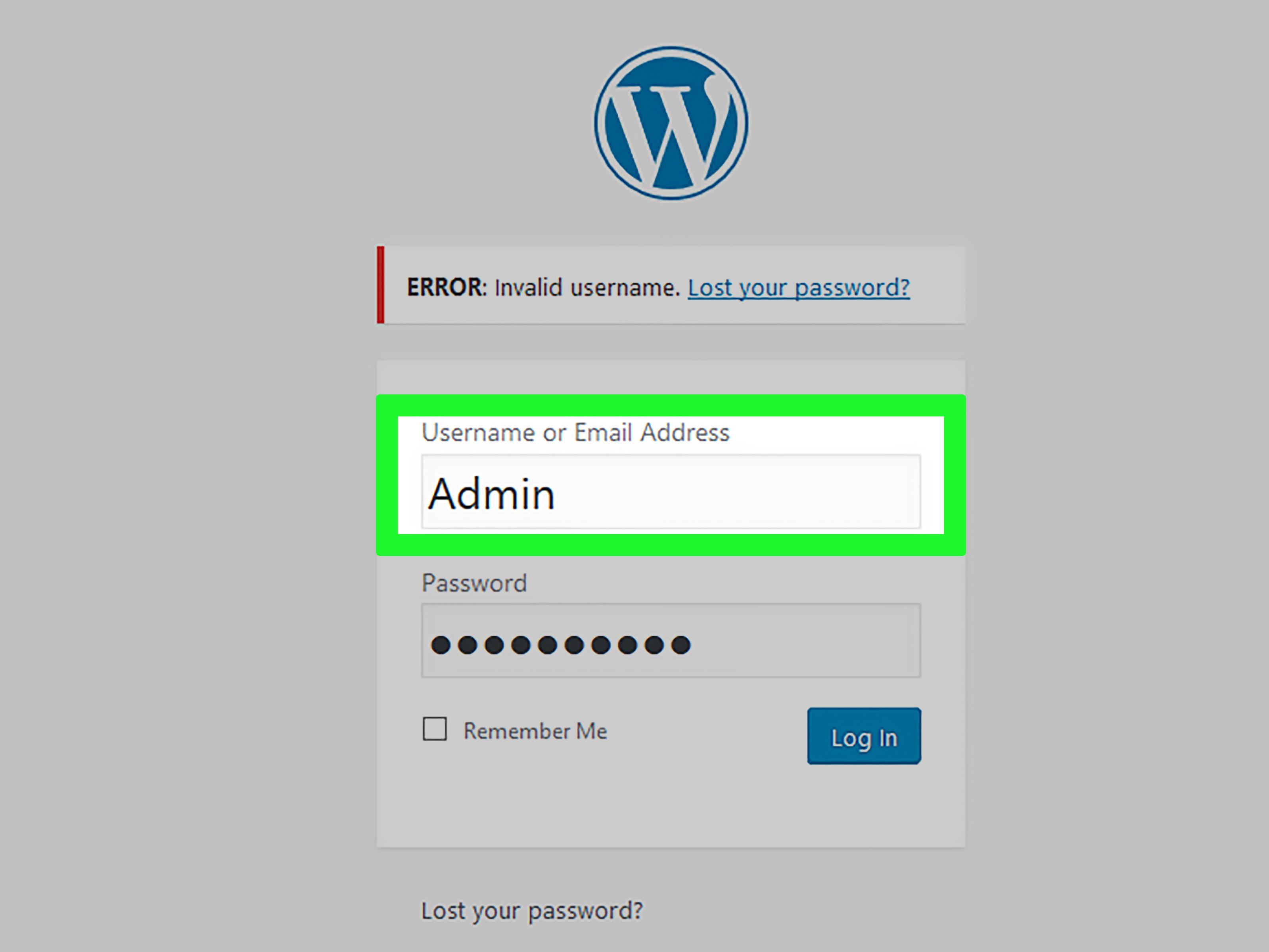 Thay đổi mật khẩu bảo mật website của bạn