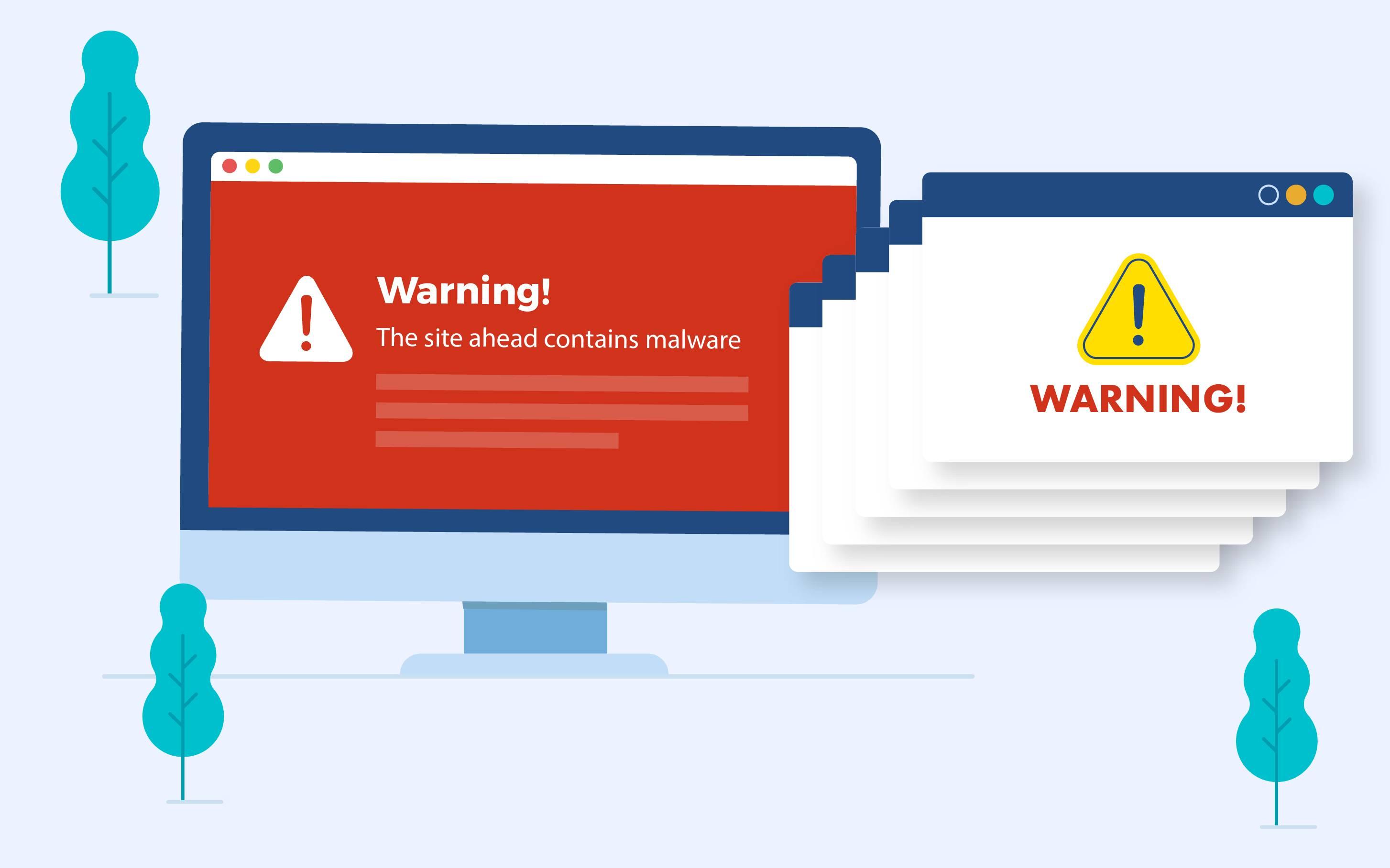 Website bị nhiễm virus
