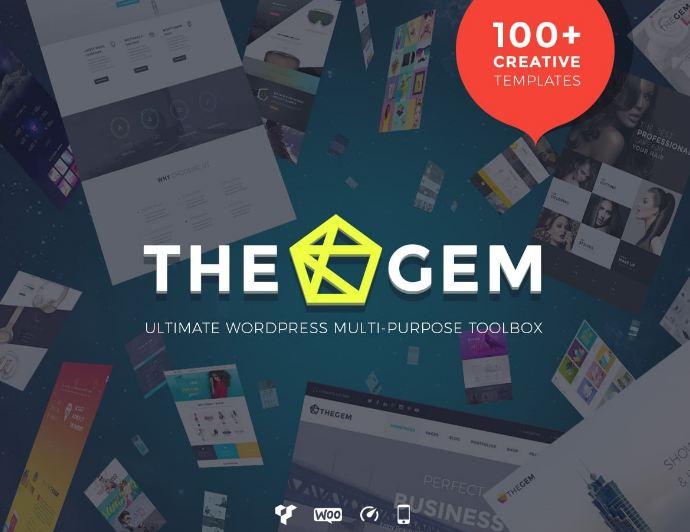 Theme TheGem sở hữu nhiều ưu điểm nổi bật tạo nên chất lượng