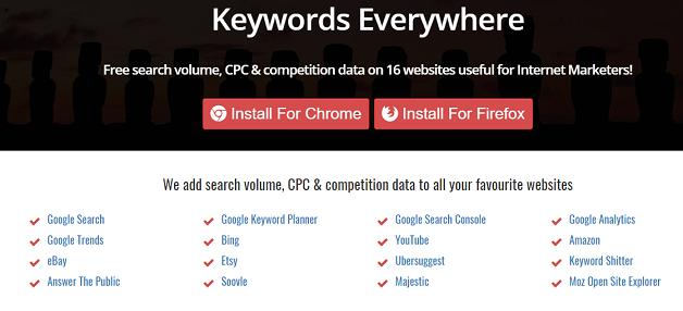 Keyword Everywhere