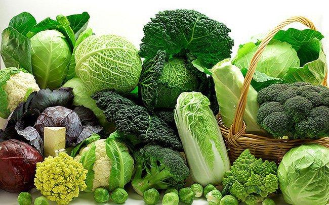 Chế độ ăn uống giàu rau xanh phòng chống ung thư
